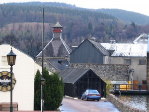 Glenfiddich Distillery (Source: commons.wikipedia.org)