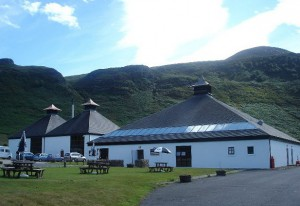Arran Distillery (Source: commons.wikipedia.org)