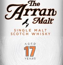 Arran 17 Years Old Label