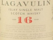 Lagavulin 16 Year Old Label