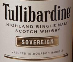 Tullibardine Sovereign Label