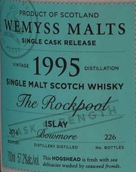 Bowmore The Rockpool Label