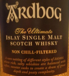 Ardbeg Ardbog Label