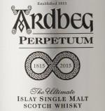Ardbeg Perpetuum Label
