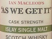 As we get it Islay Label