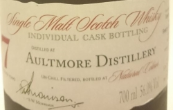 Aultmore 2007 (A. D. Rattray) Label 2