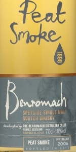 Benromach Peat Smoke 2006 Label 2