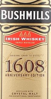 Bushmills 1608 400th Anniversary Label NEW II