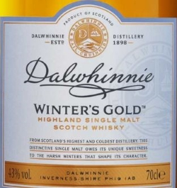 Dalwhinnie Winter's Gold Label 2