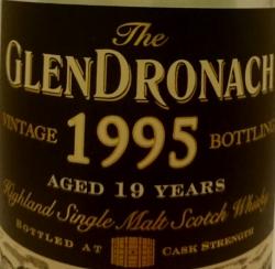 GlenDronach 1995 (for TWS) Label 2