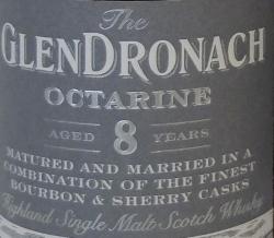 GlenDronach Octarine (2013) Label 2