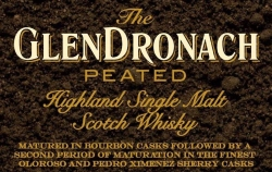 GlenDronach Peated Label 2