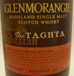 Glenmorange The Taghta Label 2