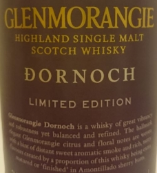 Glenmorangie Dornoch Label 3