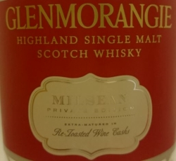 Glenmorangie Milsean Label 4
