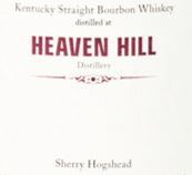 Heaven Hill 2001 Sherry Hogshead (MoS) Label