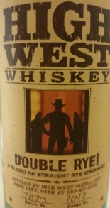 High West Double Rye Label 3