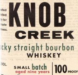 Knob Creek 9 Years Old Label