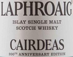 Laphroaig Cairdeas 2015 Label