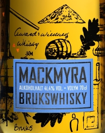 Mackmyra Brukswhisky Label 2
