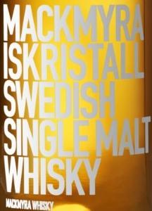 Mackmyra Iskristall Label 2