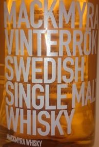 Mackmyra Vinterrök Label 2