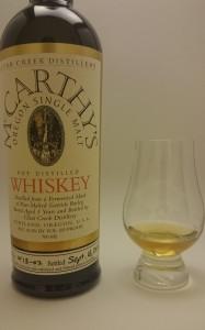 Mc Carthy's Oregon Single Malt Whiskey