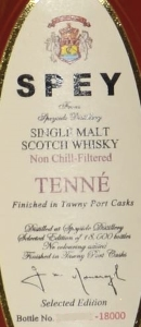 SPEY Tenné Label 2