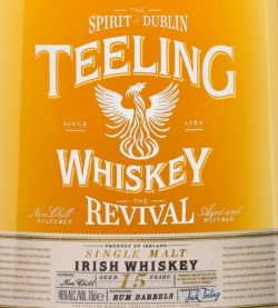 Teeling 15 Years Old The Revival  Label NEW