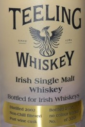 Teeling_Whiskey_Port_Wine_Cask_2002_-_Irish_Whiskeys Label