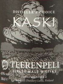 Teerenpeli Distiller's Choice Kaski Label
