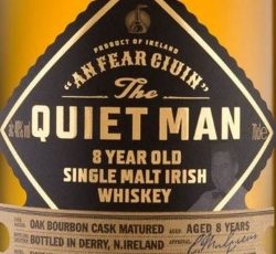 The Quiet Man 8 Year Old Label 2