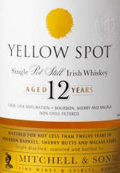 Yellow Spot 12 Years Old Label 2